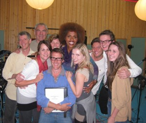 "Lucinda with cast of ""Woman of LIght"