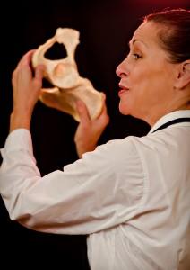 Lucinda as Georgia O'Keeffe